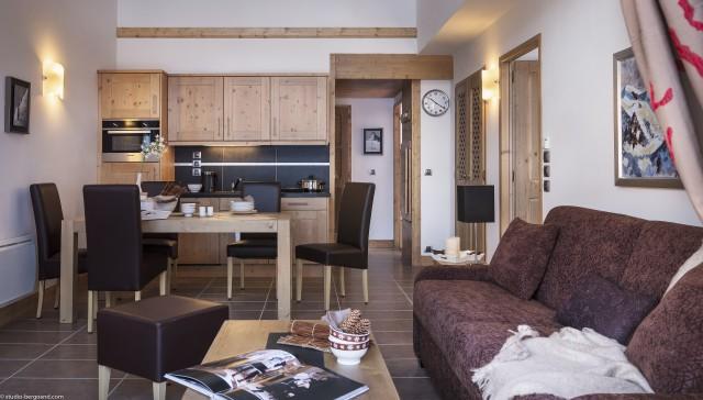 Les Carroz d'Arâches Location Appartement Luxe Lilite Salon