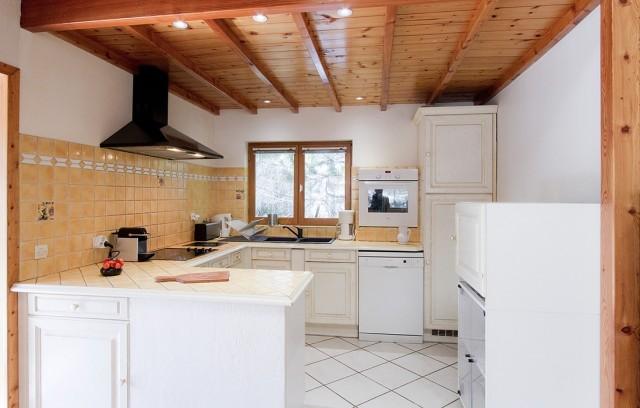 Les Deux Alpes Location Chalet Luxe Caméléonite Cuisine