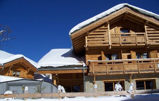 Les Deux Alpes Location Chalet Luxe Cervantate Extérieur