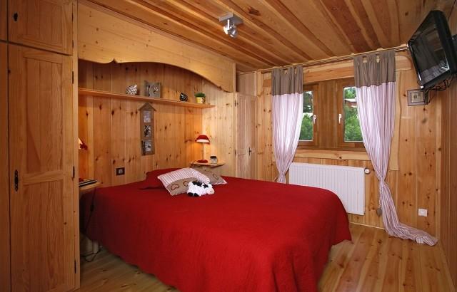 Les Deux Alpes Location Chalet Luxe Princess Blue Chambre