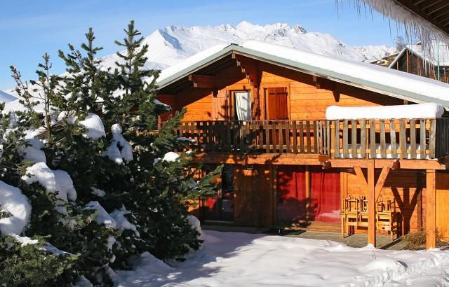 Les Deux Alpes Location Chalet Luxe Thulite Exterieur