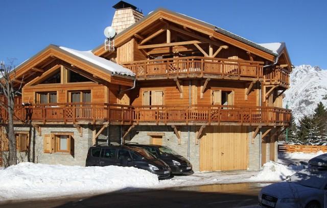 Les Deux Alpes Location Chalet Luxe Wadalite Exterieur