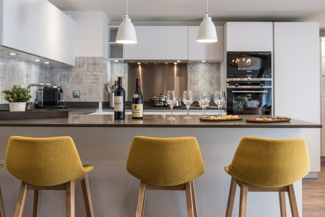 Les Gets Luxury Rental Appartment Anrocha Kitchen