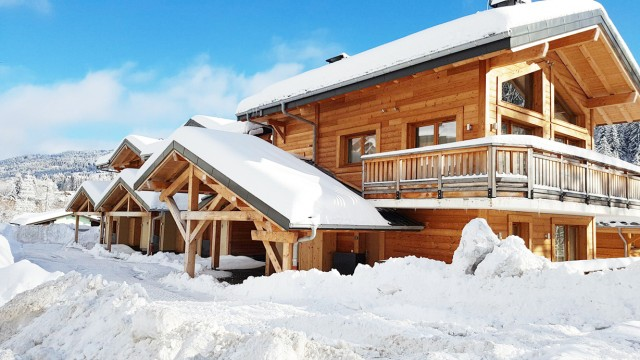 Les Gets Luxury Rental Chalet Anrolle Exterior