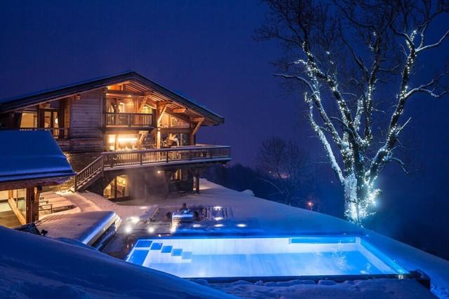 Les Gets Luxury Rental Chalet Gedrite Pool