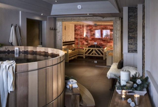 Les Menuires Luxury Rental Appartment Amuna Relaxing Area