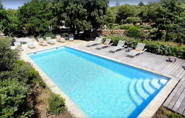 Luberon Location Villa Luxe Lavandula Piscine1