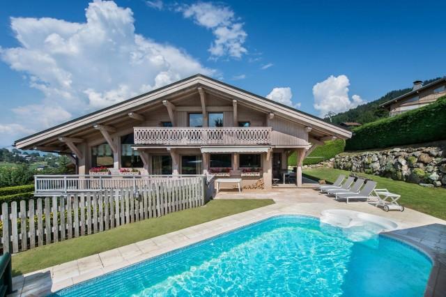 Megève Luxury Rental Chalet Cajolines Exterior