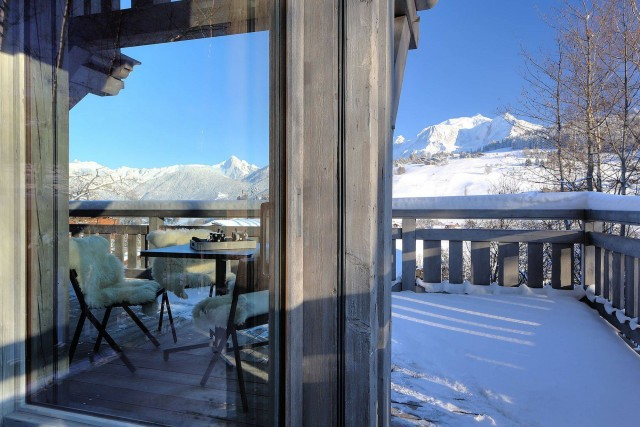 Megève Location Chalet Luxe Telizite Terrasse