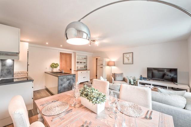 Morzine Luxury Rental Appartment Merlinuta Living Room
