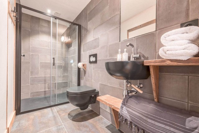 Morzine Luxury Rental Appartment Morzilute Shower Room