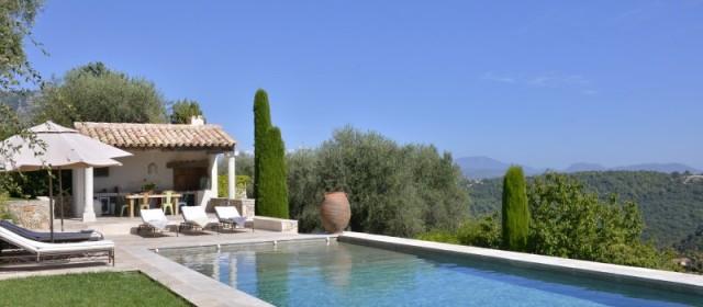 Nice Luxury Rental Villa Néottie Pool
