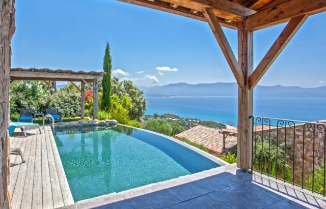 Propriano Luxury Rental Villa Prelou Pool