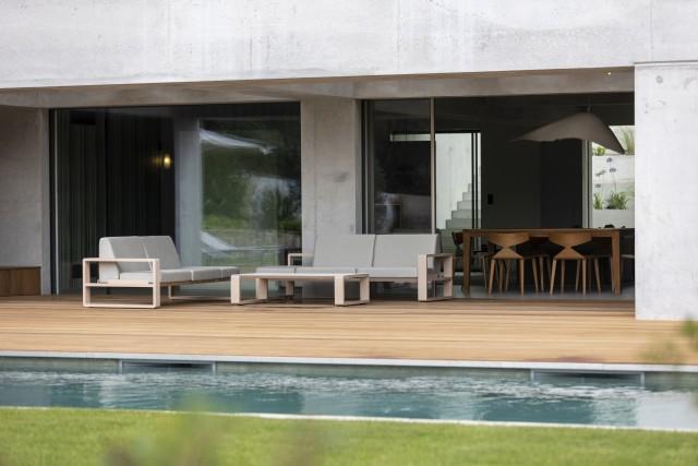 Propriano Location Villa Luxe Pyrale Terrasse
