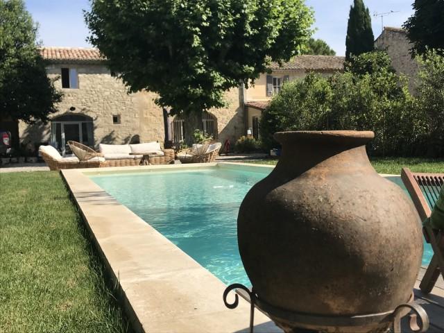 Saint Rémy De Provence Location Villa Luxe Maladavite Piscine