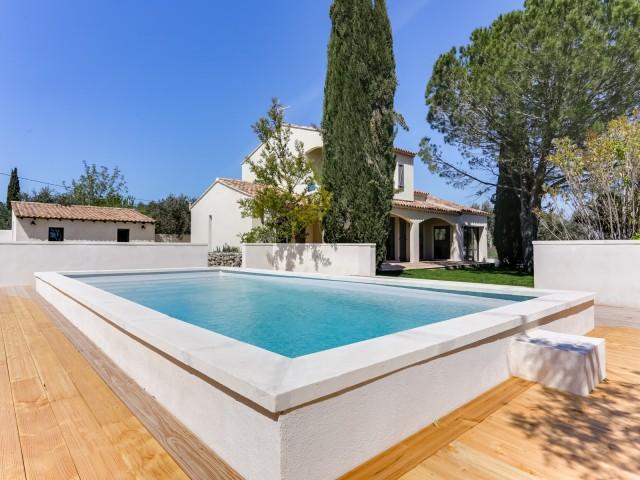 Saint Rémy De Provence Location Villa Luxe Marcasite Piscine