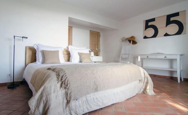 Saint Tropez Luxury Rental Villa Serpolat Bedroom