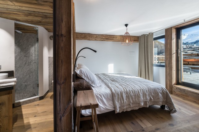 Val d'Isère Location Appartement Luxe Aramias Chambre