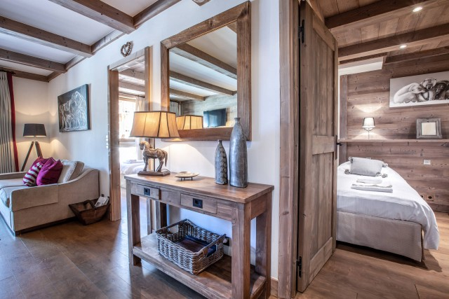 Val d'Isère Luxury Rental Apartment Vaulite Living Area