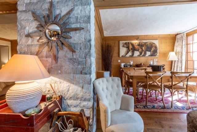 Val d'Isère Location Appartement Luxe Veridine Séjour