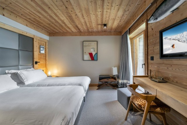 Val d'Isère Location Appartement Luxe Virlonte Chambre