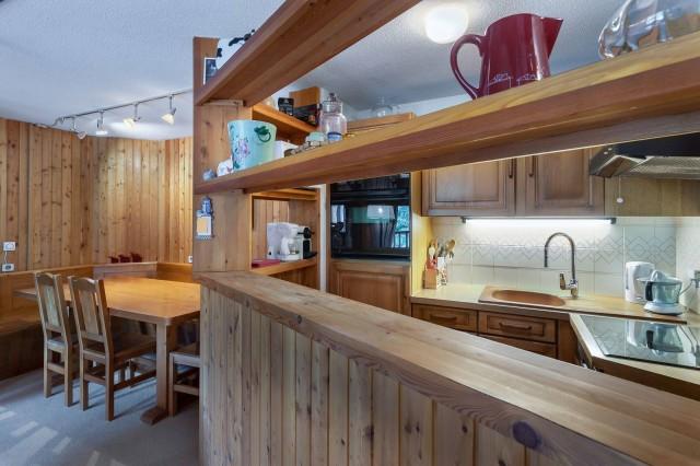 Val d'Isère Luxury Rental Appartment Vitalane Kitchen
