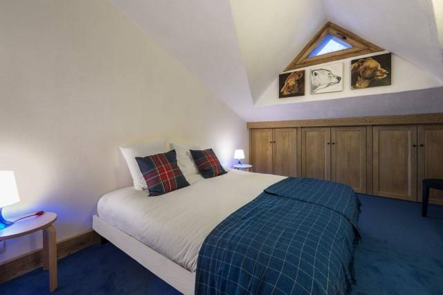 Val d'Isère Luxury Rental Appartment Vizir Bedroom