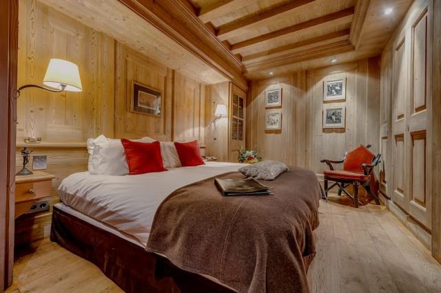 Val d'Isère Location Chalet Luxe Vidrite Chambre