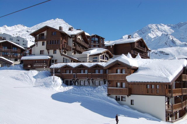 Val Thorens Rental Appartment Luxury Volfsanite Outside