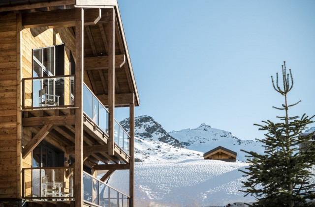 Val Thorens Location Chalet Luxe Olidan Vue
