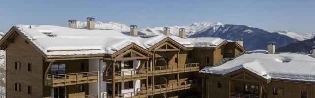 Valmorel Location Appartement Luxe Ferrucite Duplex Extérieur