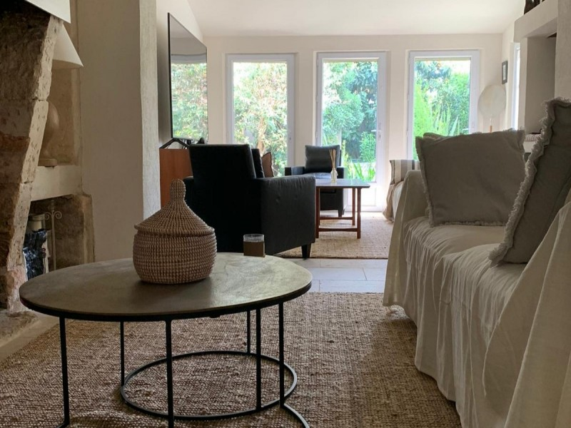 Saint Rémy De Provence Luxury Rental Villa Maladavite Living Room