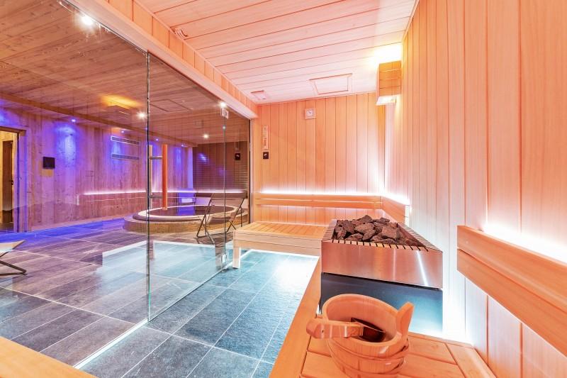 Val Thorens Luxury Rental Chalet Olidan Sauna 2