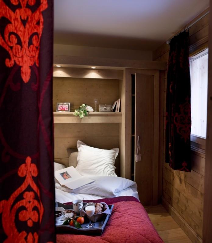 Alpe d'Huez  Location Appartement Luxe Acroite Duplex Chambre 1