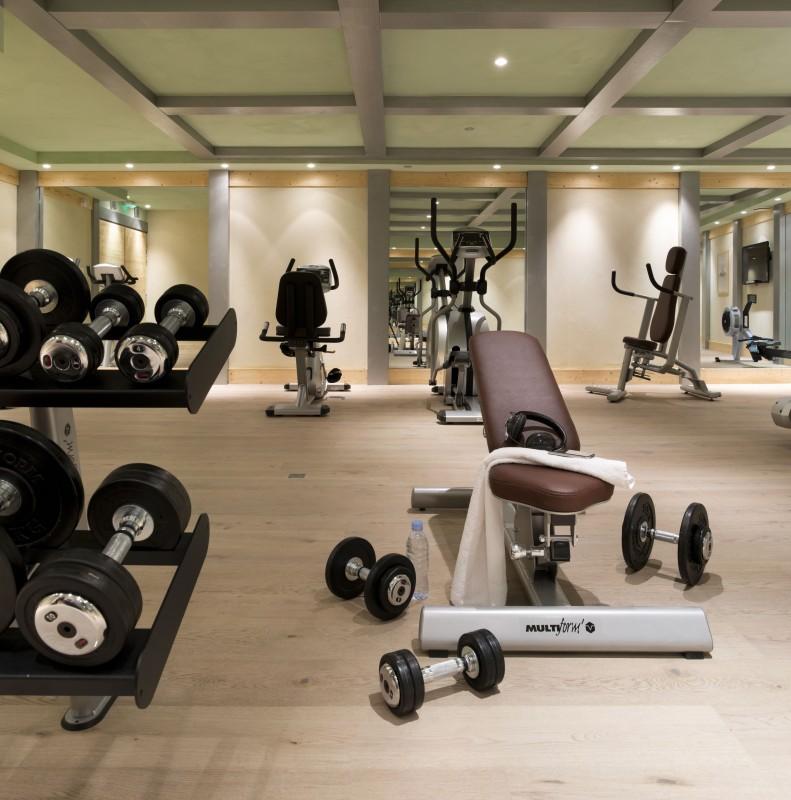 Alpe d'Huez  Location Appartement Luxe Acroitie Salle De Fitness