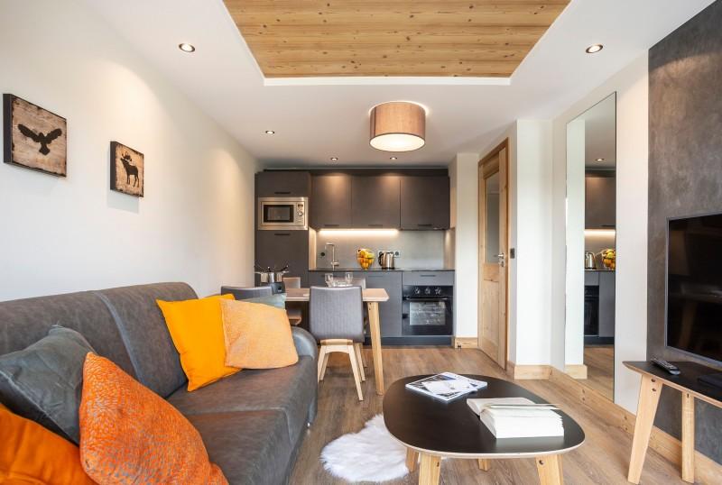 Alpe D'Huez Location Appartement Luxe Amara Séjour