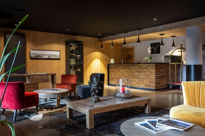 Alpe D'Huez Location Appartement Luxe Amara Séjour Commun
