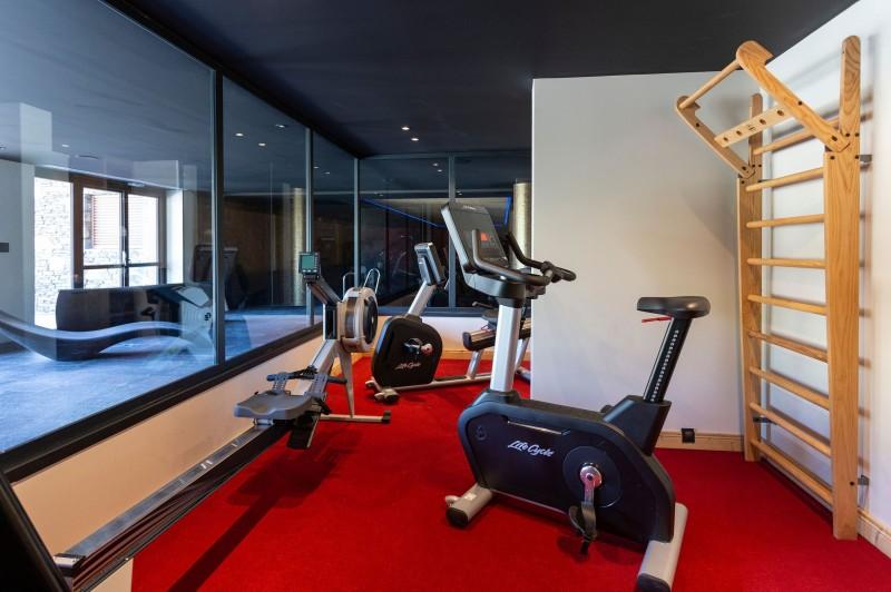 Alpe D'Huez Location Appartement Luxe Amari Espace Fitness