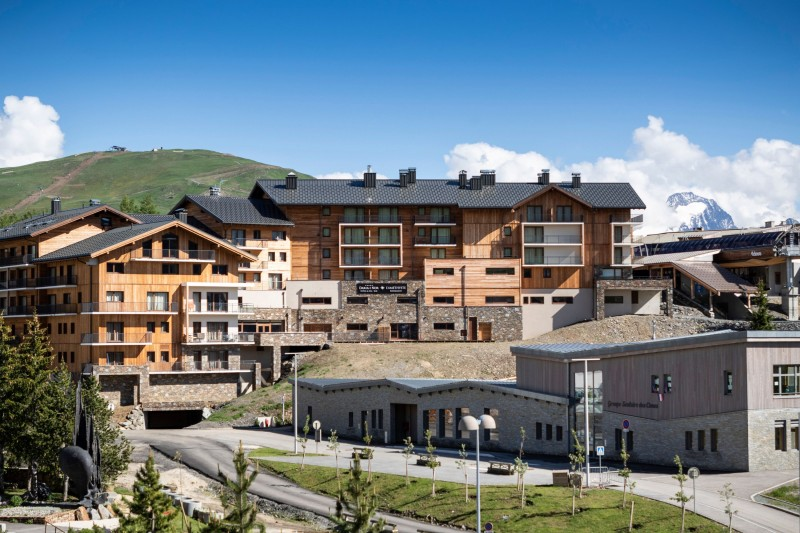 Alpe D'Huez Location Appartement Luxe Amaro Extérieur