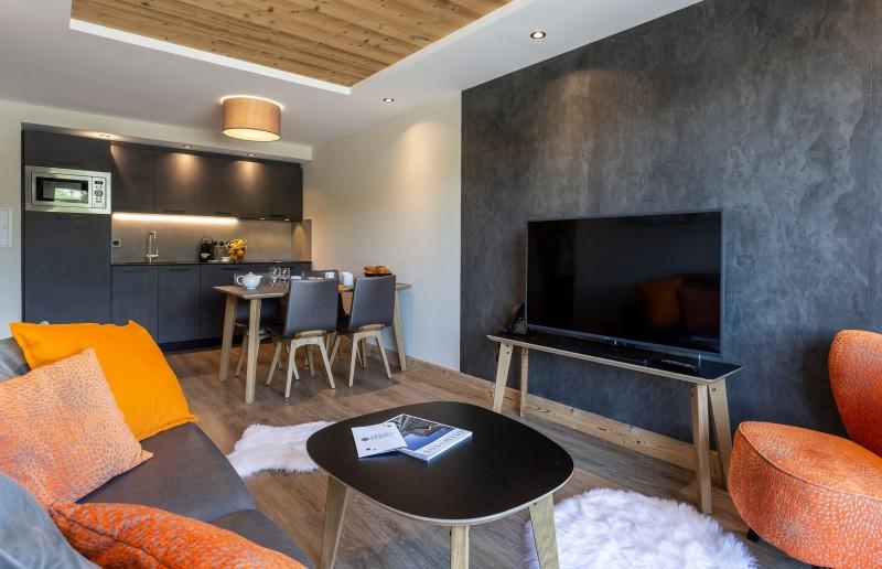 Alpe D'Huez Location Appartement Luxe Amaro Séjour