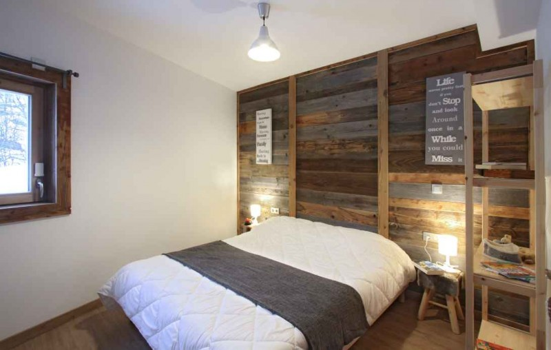 Alpe d'Huez Location Chalet Luxe Abenekite Chambre 1