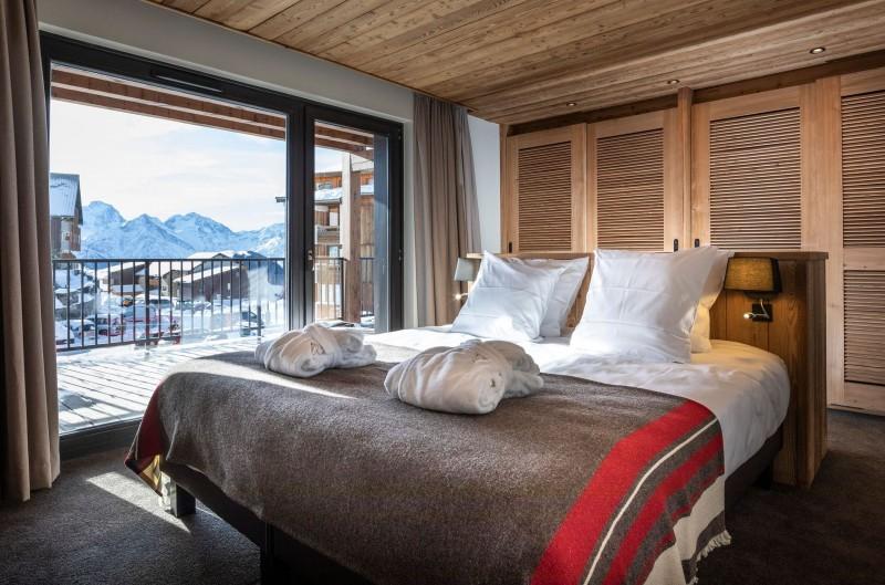 Alpe D'Huez Location Chalet Luxe Acenakite Chambre1