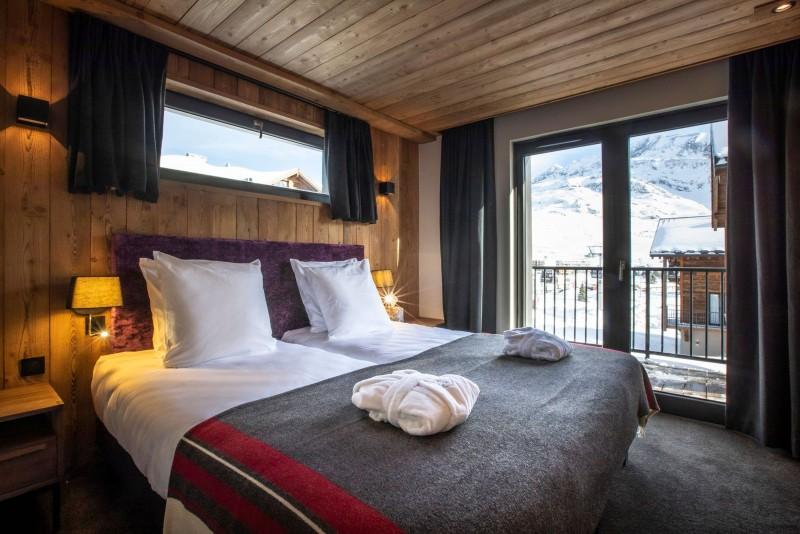 Alpe D'Huez Location Chalet Luxe Acenakite Chambre2