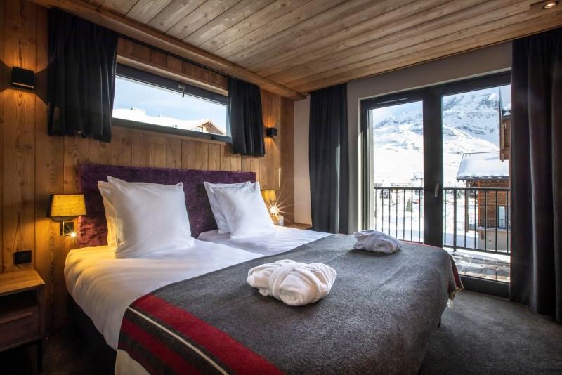 Alpe D'Huez Location Chalet Luxe Acenakite Chambre4