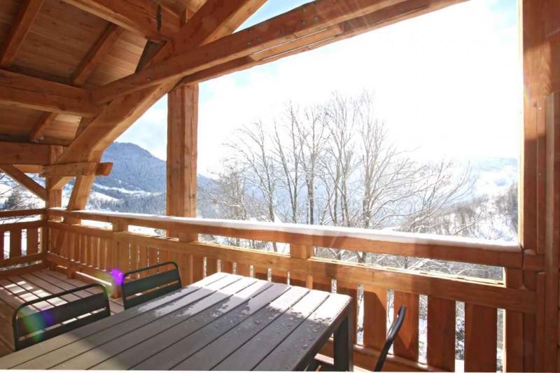 Alpe d'Huez Location Chalet Luxe Novableu Balcon