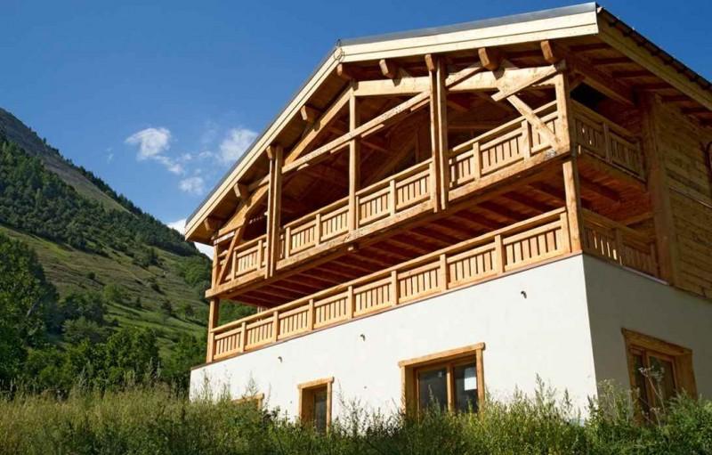 Alpe d'Huez Location Chalet Luxe Novableu Exterieur