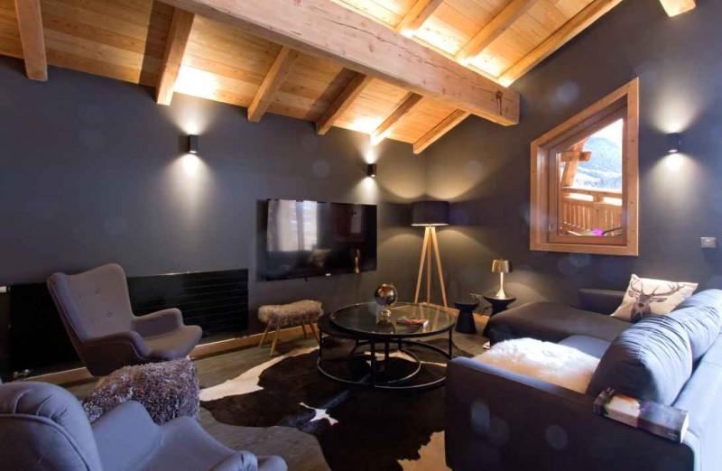 Alpe d'Huez Location Chalet Luxe Novableu Séjour