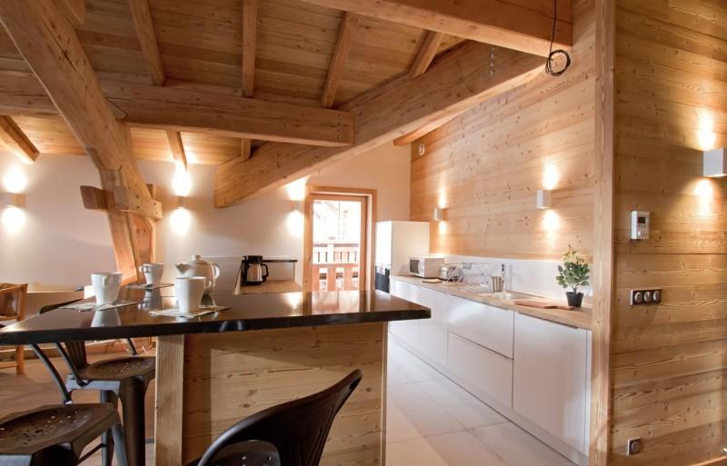 Alpe d'Huez Location Chalet Luxe Novagris Cuisine