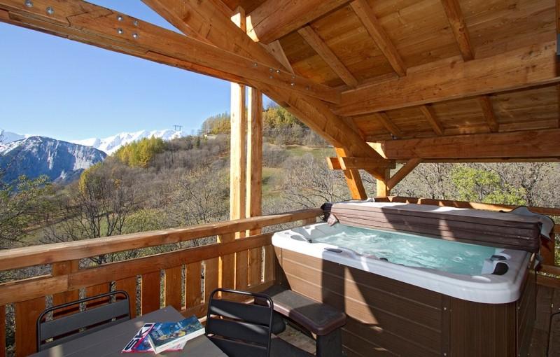 Alpe d'Huez Location Chalet Luxe Novagris Jacuzzi