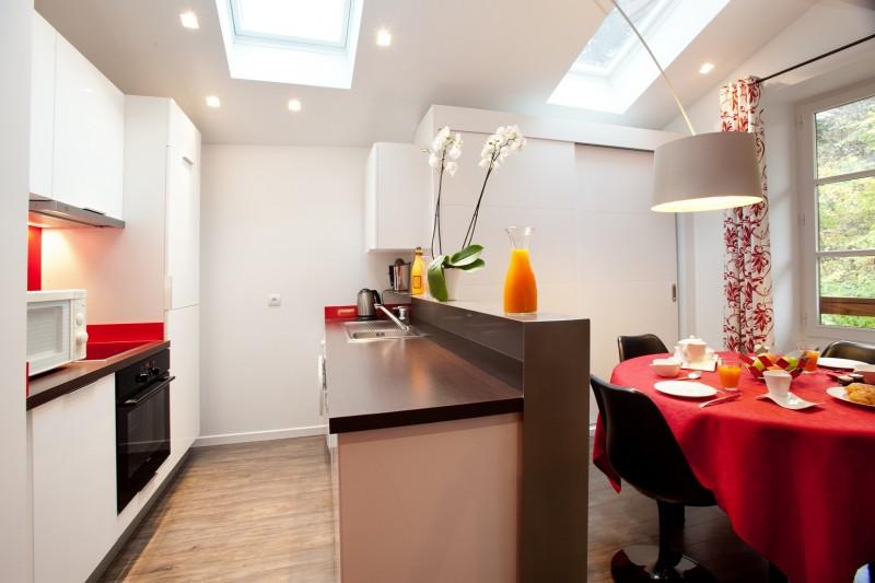 Annecy Luxury Rental Apartment In The House Pierre De Feu Kitchen